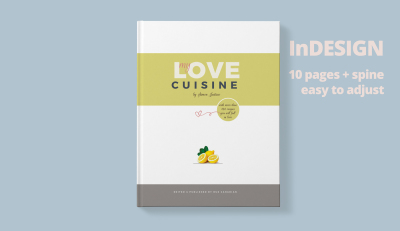 Recipe Book Magazine Template