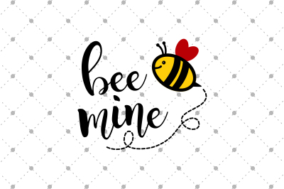 Bee Mine SVG Files