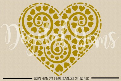 Heart SVG / DXF / EPS / PNG Files