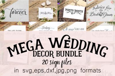 Mega Wedding Decor Bundle