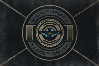 Secret Society Badges 3