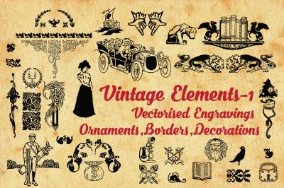 Vintage-590 elements
