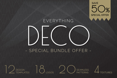 Art Deco Graphics Bundle Offer