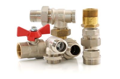 Various metal parts for plumbing and sanitary ware