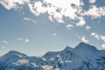 Mountains in Wintertime