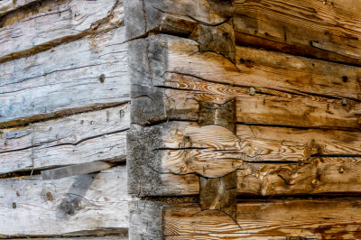 Wooden corner
