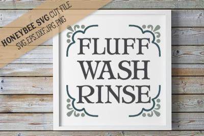 Fluff Wash Rinse