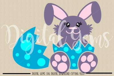 Easter Bunny SVG / DXF / EPS / PNG Files