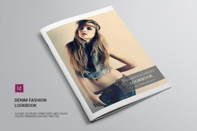 Denim Fahion Lookbook