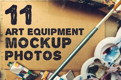 Art Equipment Mockup