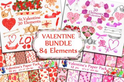 BUNDLE-Valentine's Day clipart