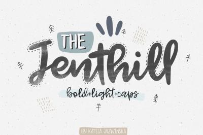 Jenthill Script Family