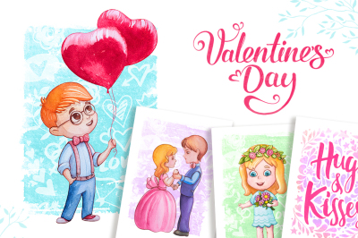 Valentine's Day illustrations