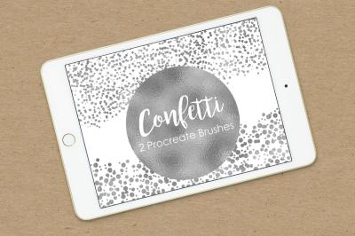 Procreate Confetti Brush Set