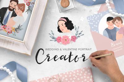 Wedding & Valentine Portrait Creator