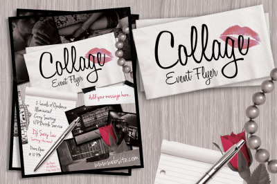 Collage Event Flyer