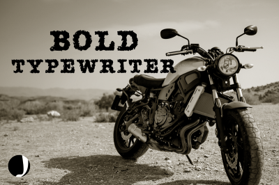 AMTW-Typewriter Font