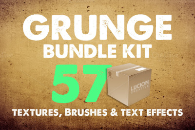 57 Essential Grunge Textures Pack