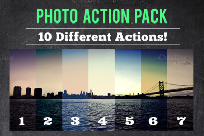 10 Photo Action Pack