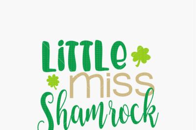 Little Miss Shamrock Cutie