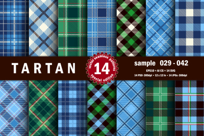 Seamless  Tartan Pattern Part - 03