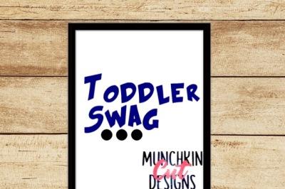 Toddler Swag Cutting File