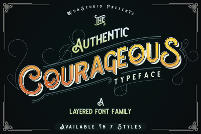 Courageous Typeface