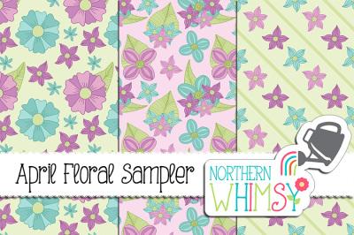 April Floral Sampler