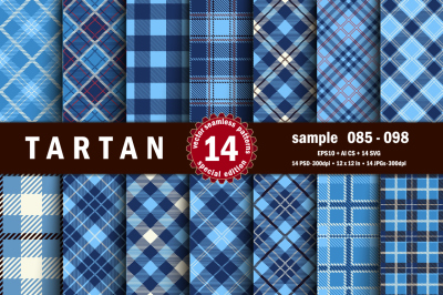Seamless  Tartan Pattern Part - 07