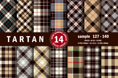 Seamless  Tartan Pattern Part - 10