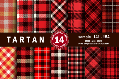 Seamless  Tartan Pattern Part - 11