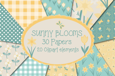 Sunny blooms, Bumper pack