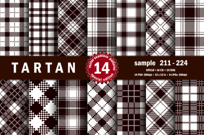 Seamless  Tartan Pattern Part - 16