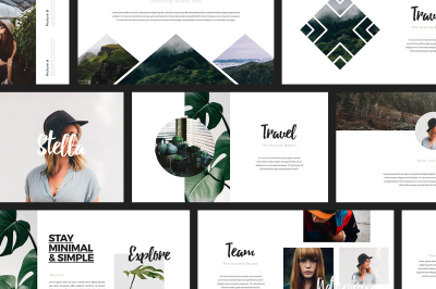 ASCHA - Lookbook Powerpoint Template