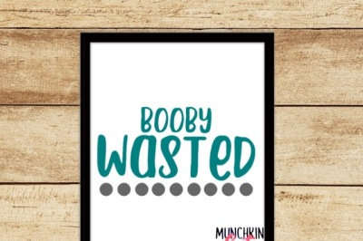 Booby Wasted Cutting Design