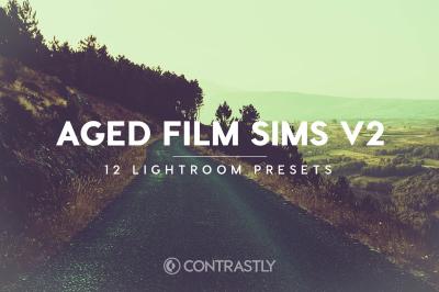 Aged Film Sims Lightroom Presets V2