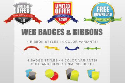 Badge Ribbon Creator Kit