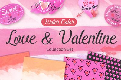 Love & Valentine collection set