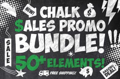 50 Chalk Sales Promo Bundle