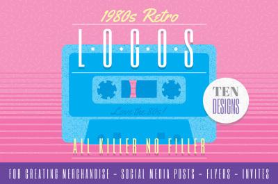 1980s Retro Logos