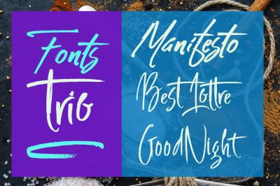 Fonts Trio