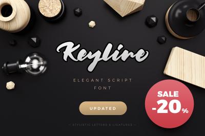 Keyline Script Font
