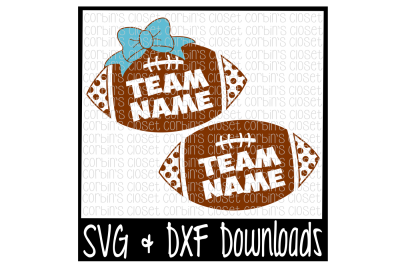 Football SVG * School Spirit SVG Cut File