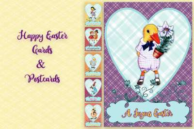 Happy Easter Cards&Postcards