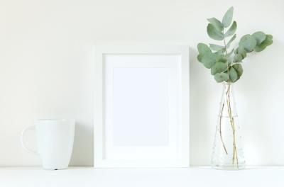 Styled frame mockup