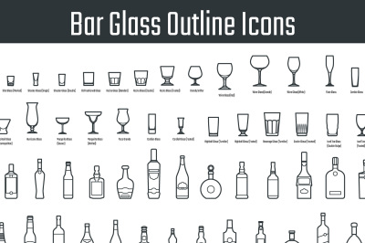Bar Glass Icon