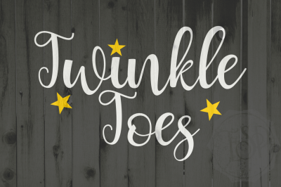 Twinkle Toes, dxf, svg, cutting file