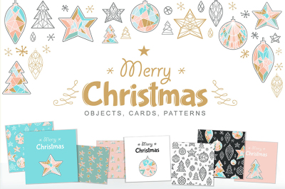 Christmas Set: Objects & Patterns