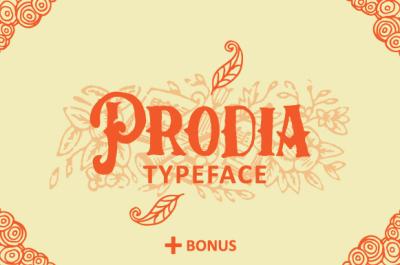 Prodia Typeface