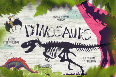 Dino! - From a skeleton to scales